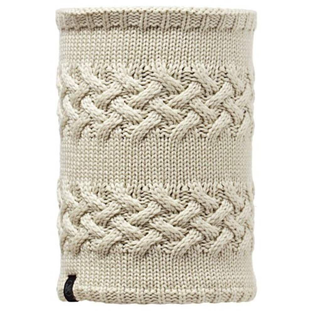 Buff Knitted and Polar Fleece Neck Warmer - Savva cream £29.00 2cc52529080