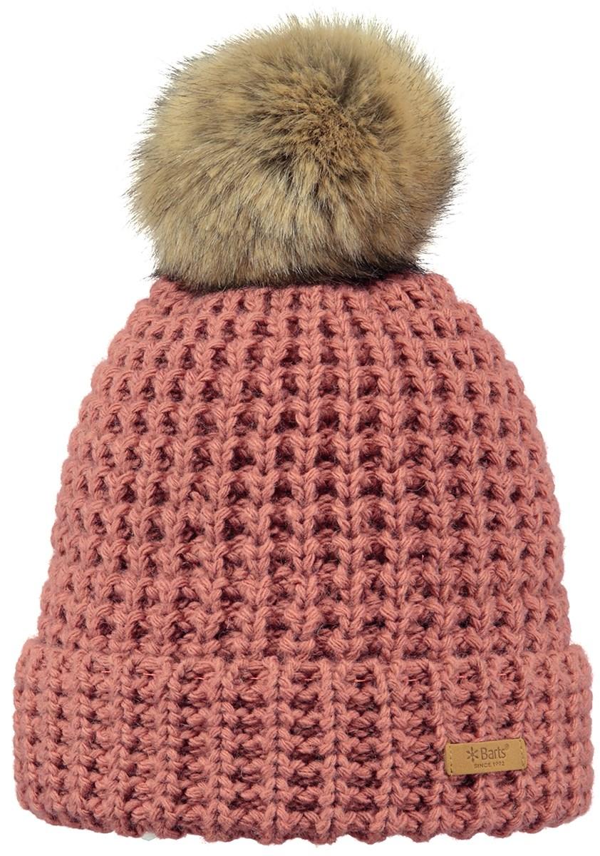 fe6fdb34 Barts Bonnie Beanie Hat in Morganite Peach - The Ski Shop £31.49