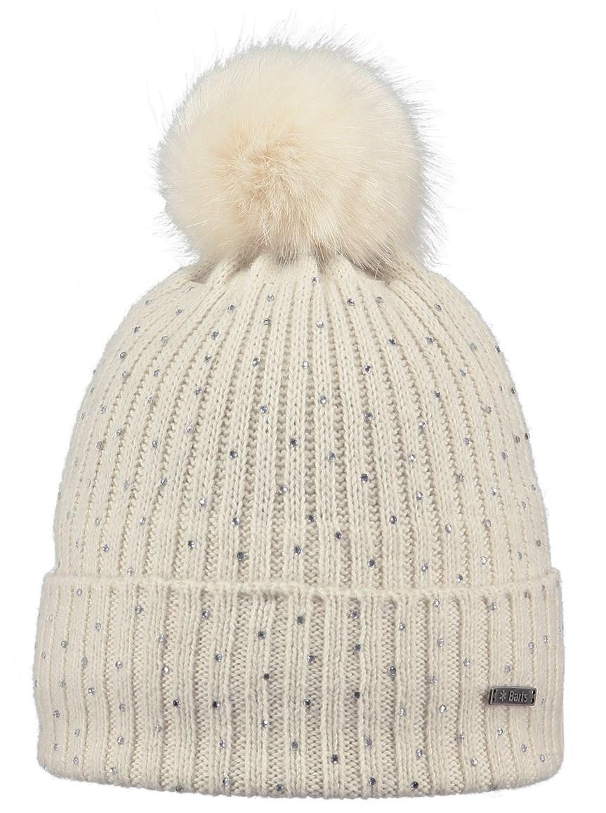 Barts Splendor Beanie Hat in Cream - The Ski Shop £42.99 542662b9098b