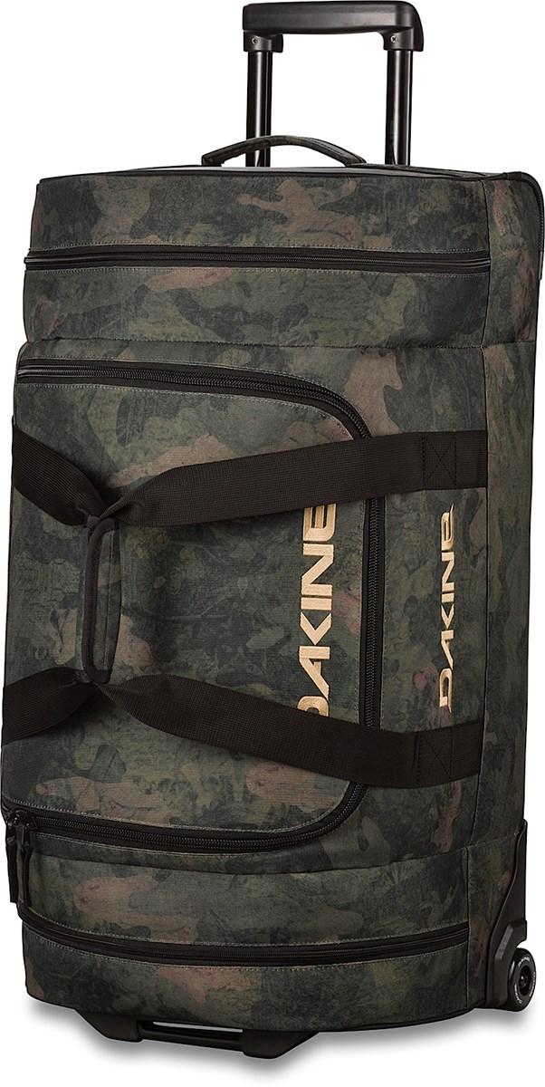 d3df249a8f97 Dakine Wheeled Duffle Bag 90L - Peat Camo - The Ski Shop £135.00