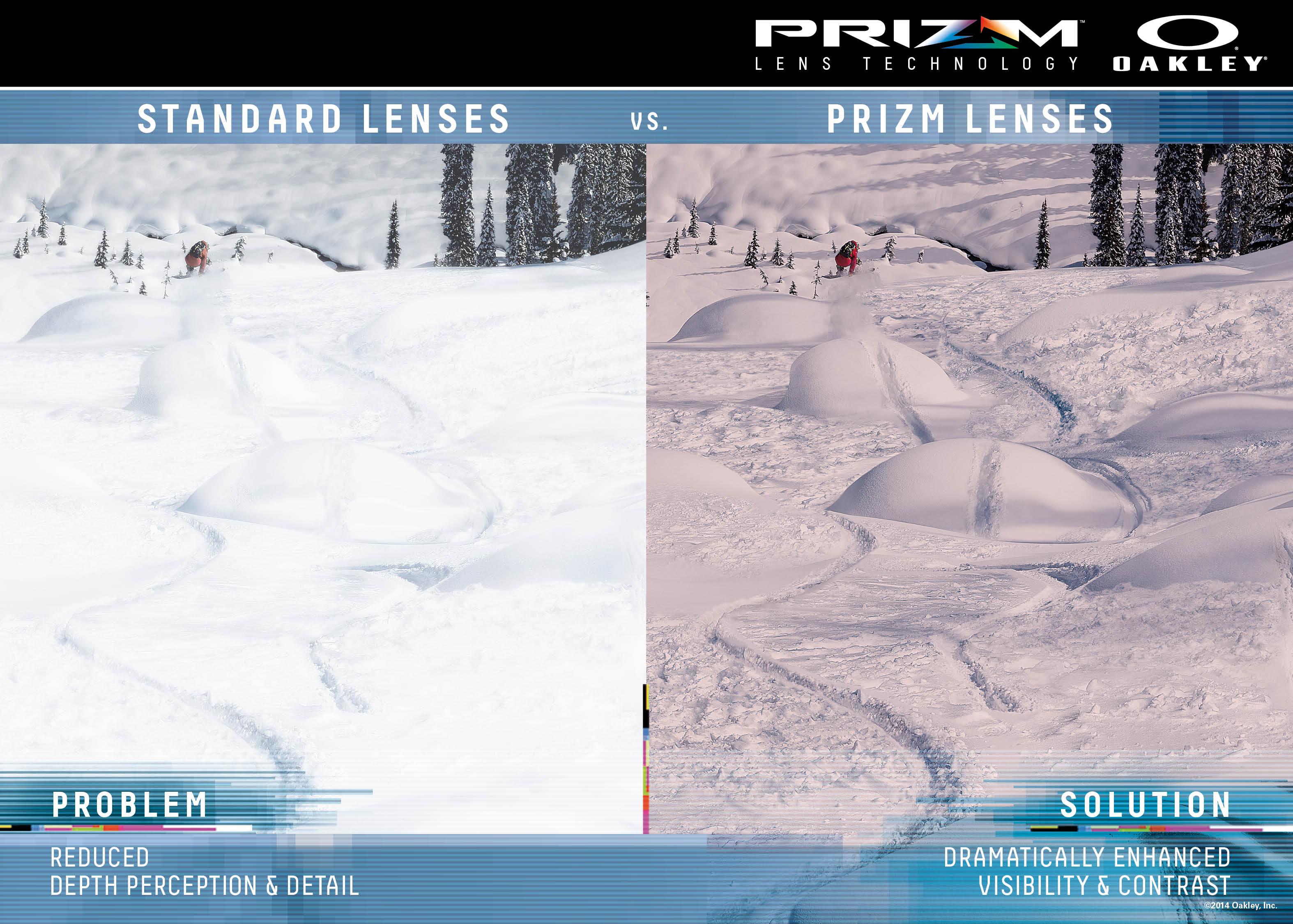 oakley prizm ski  Oakley Airbrake Green with Prizm Black and Prizm Rose Lenses 拢168.00