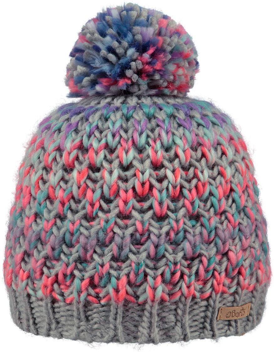 Barts Nicole Junior Beanie Hat In Heather Grey The Ski Shop £22.99 dcd682c332fd