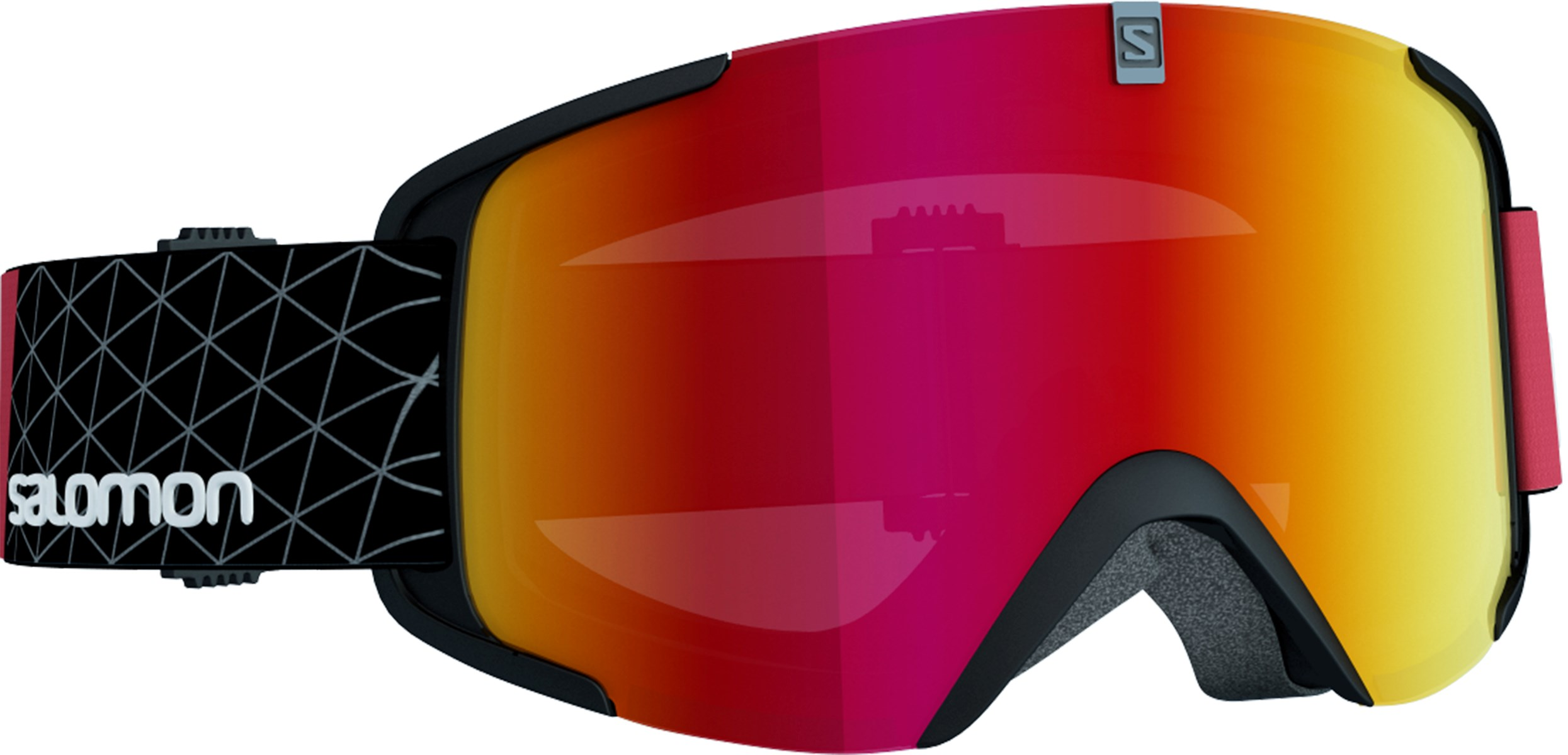 5b9e58c2940 Salomon X View Ski Goggle In Black Red With Mirror Red Lens £70.00