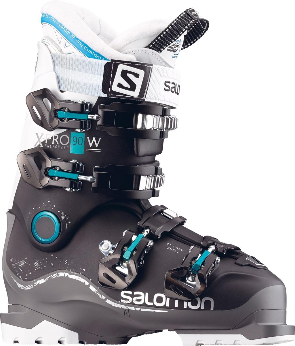 93ae374ed01f Salomon X Pro 90W Custom Shell Womens Ski Boots in Black