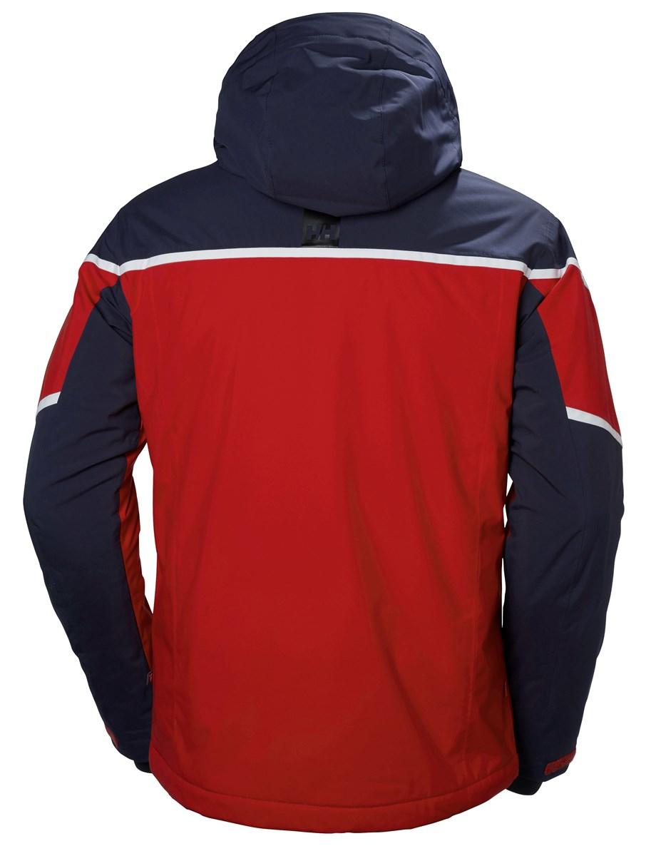 ddabac9c33 Helly Hansen Roc Mens Ski Jacket In Red Blue The Ski Shop £340.00