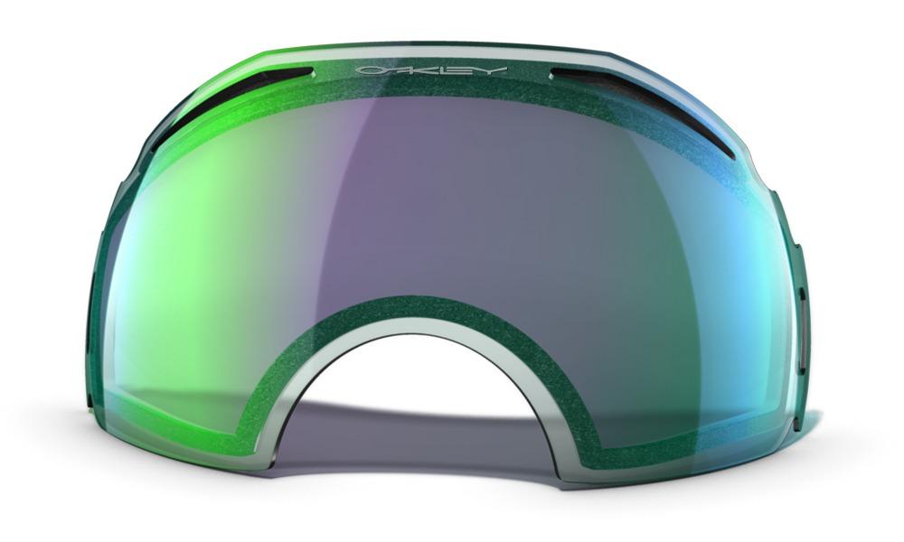 oakley airbrake prizm jade iridium lens