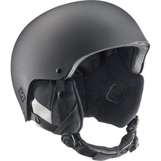 vente chaude en ligne f446e 76994 Salomon Brigade Ski Helmet in Black