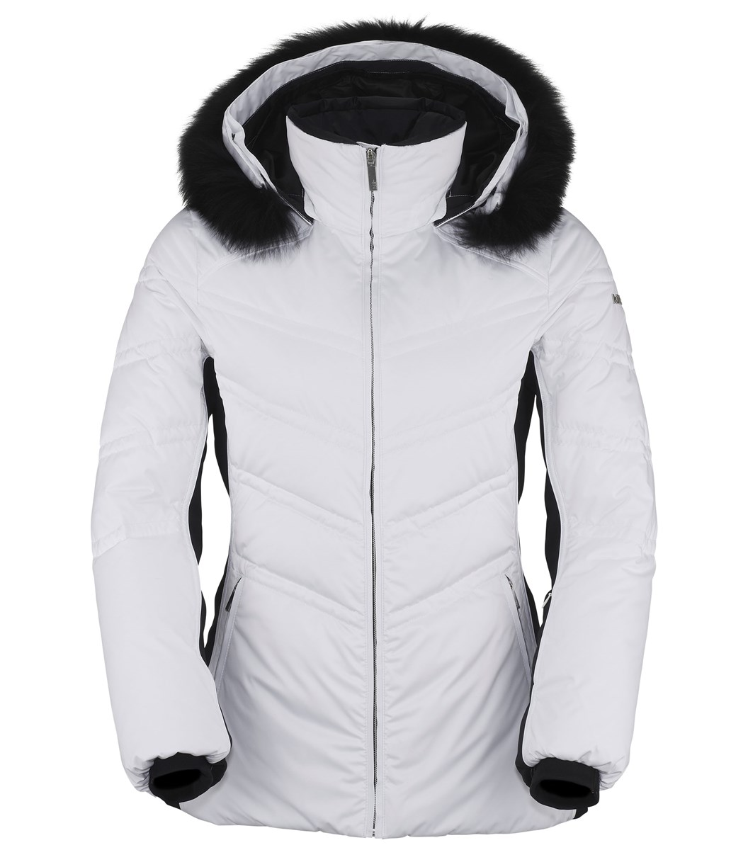 Killy Chic II Womens Down Ski Jacket in White - The Ski Shop £359.97 907b1a7f4