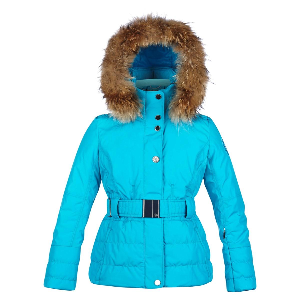 66c636e9b Poivre Blanc Alice Girls Ski Jacket in Blue Lagoon £185.00