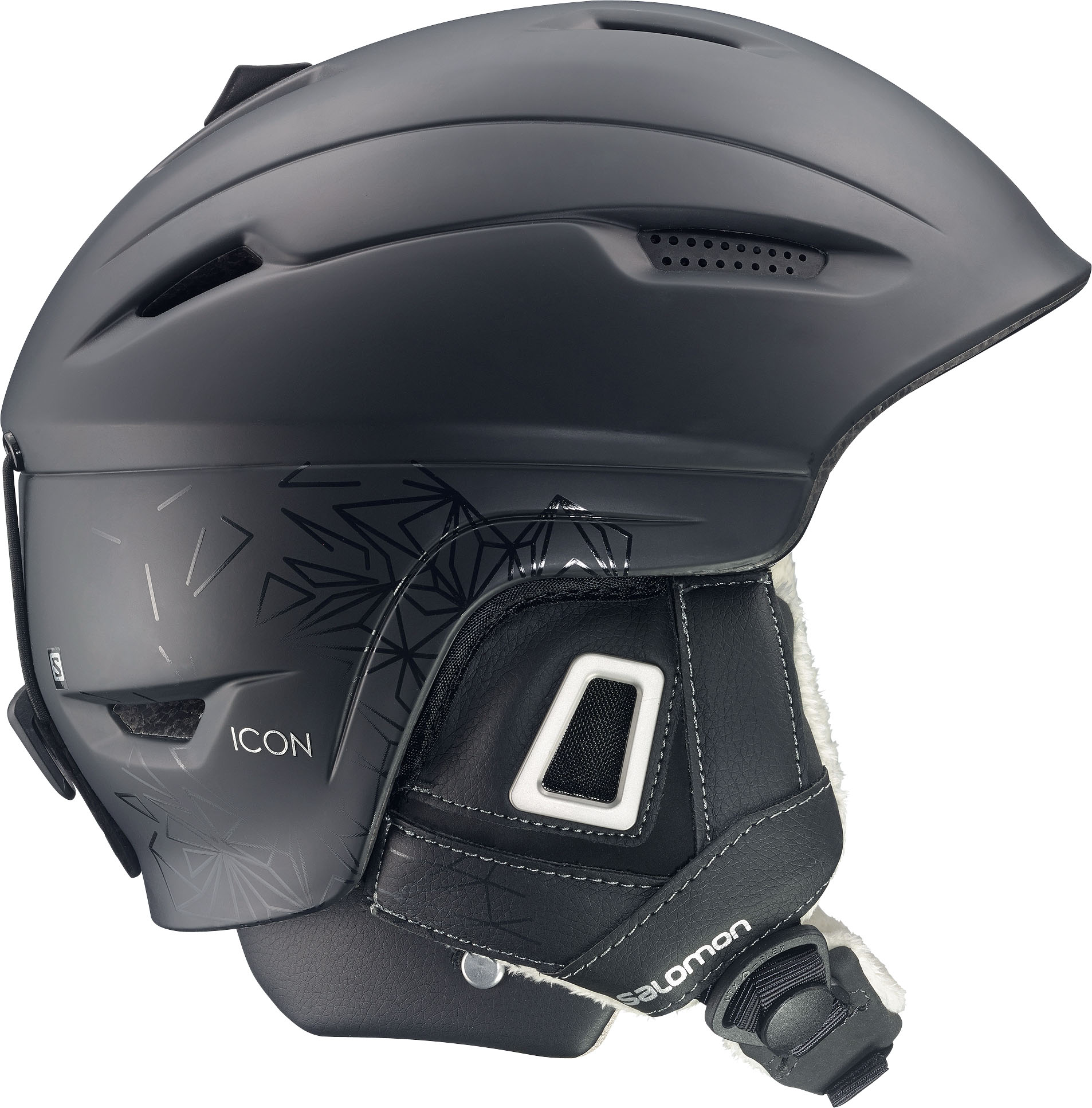 Salomon Icon Custom Air Womens Ski Helmet in Black £115.00 fc0f78b610