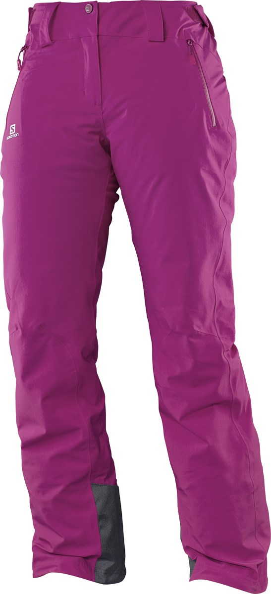 fef9b2c9431f8 Salomon Iceglory Womens Ski Pants in Aster Purple £110.00