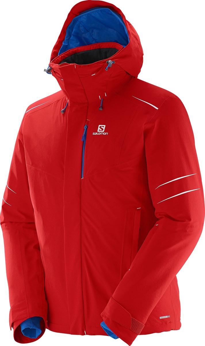 e501dd8bf01f Salomon Icestorm Mens Ski Jacket in Matador-X Red £250.00