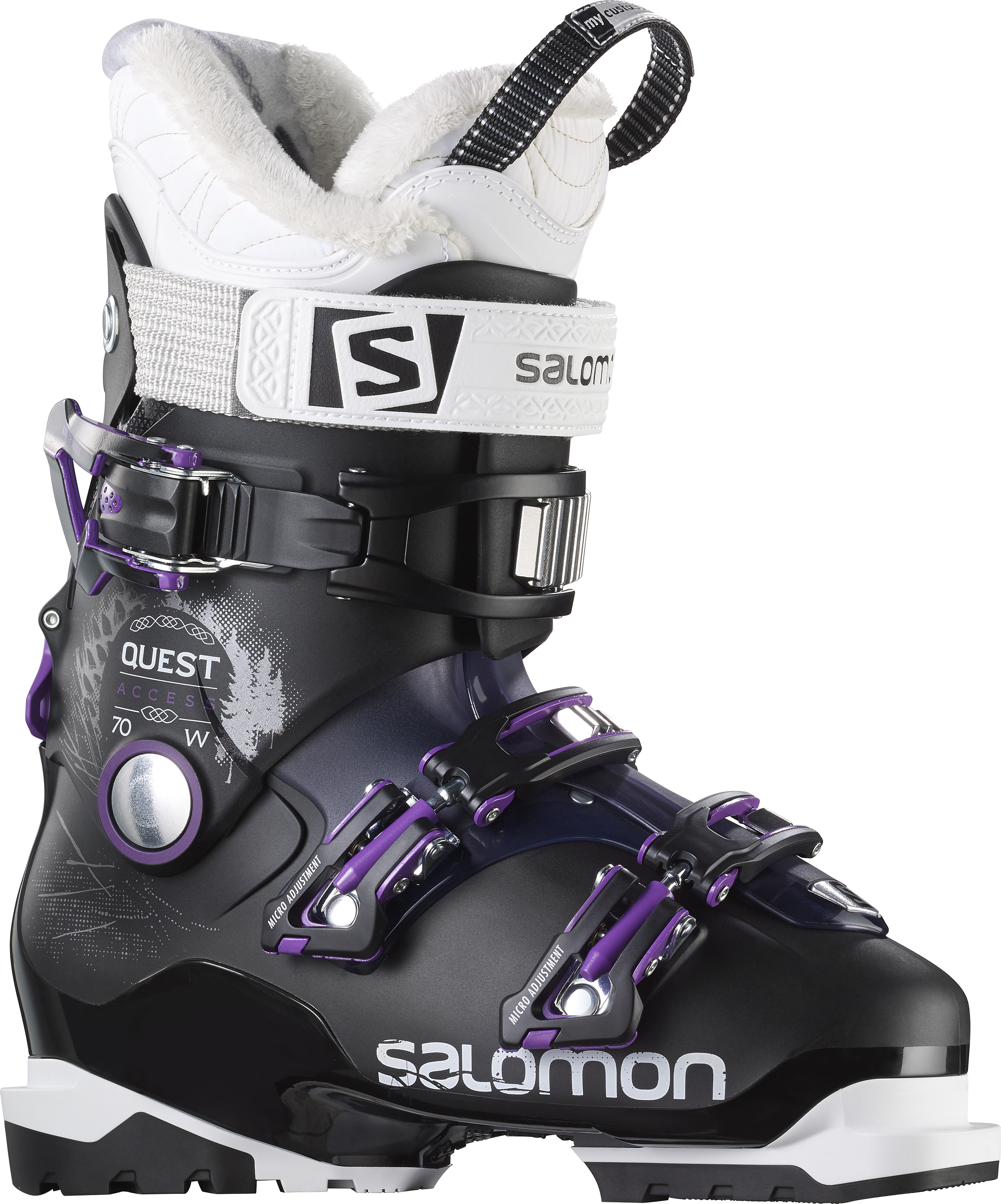 save off factory authentic big discount Salomon Quest Access 70 Womens Ski Boots in Black