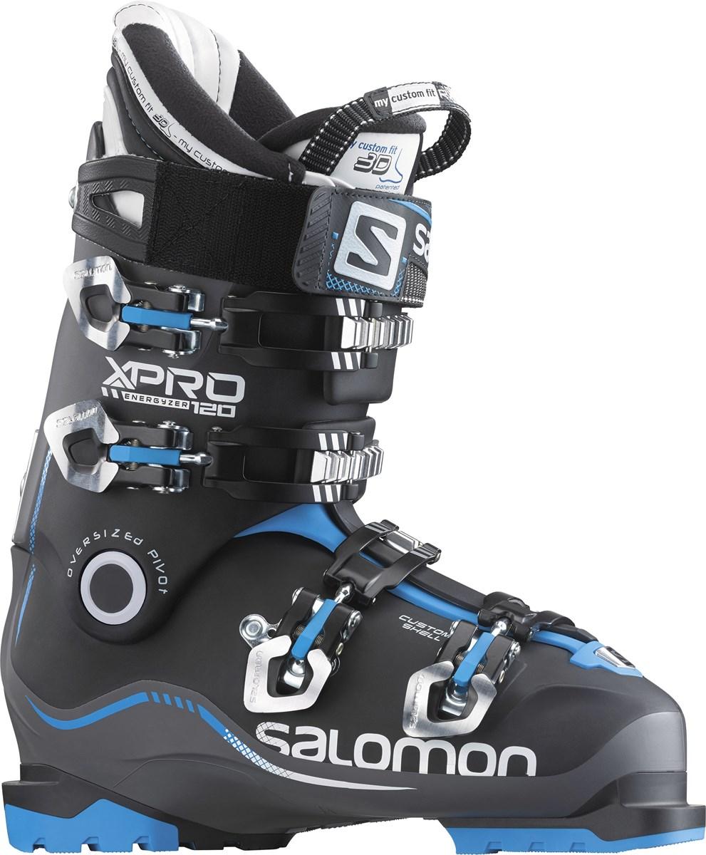 a0dea19335d4 Salomon X Pro 120 Custom Shell Mens Ski Boots 2016 in Anthracite Black