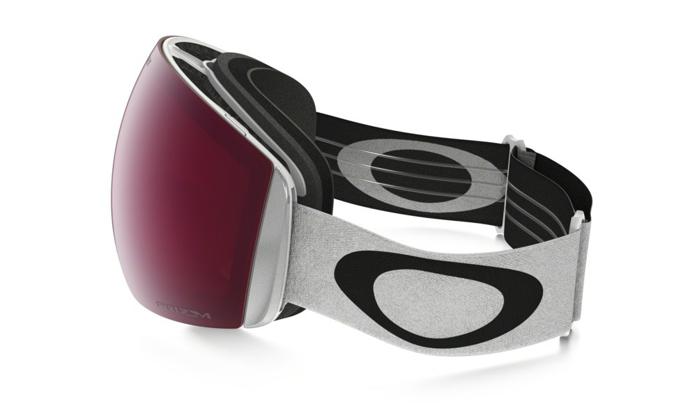 675c47e7bce Oakley Flight Deck XM Goggles In White With Prizm Rose Lens £145.00