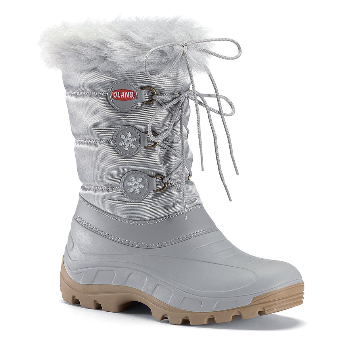 6c7e4cd74b69 Olang Patty Junior Snow Boots in Silver - The Ski Shop Sevenoaks £44.00