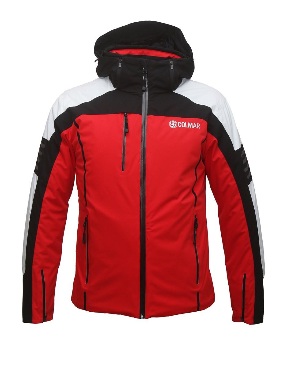 30e9770c769 Colmar Shaw Mens Ski Jacket in Red Black - The Ski Shop £510.00