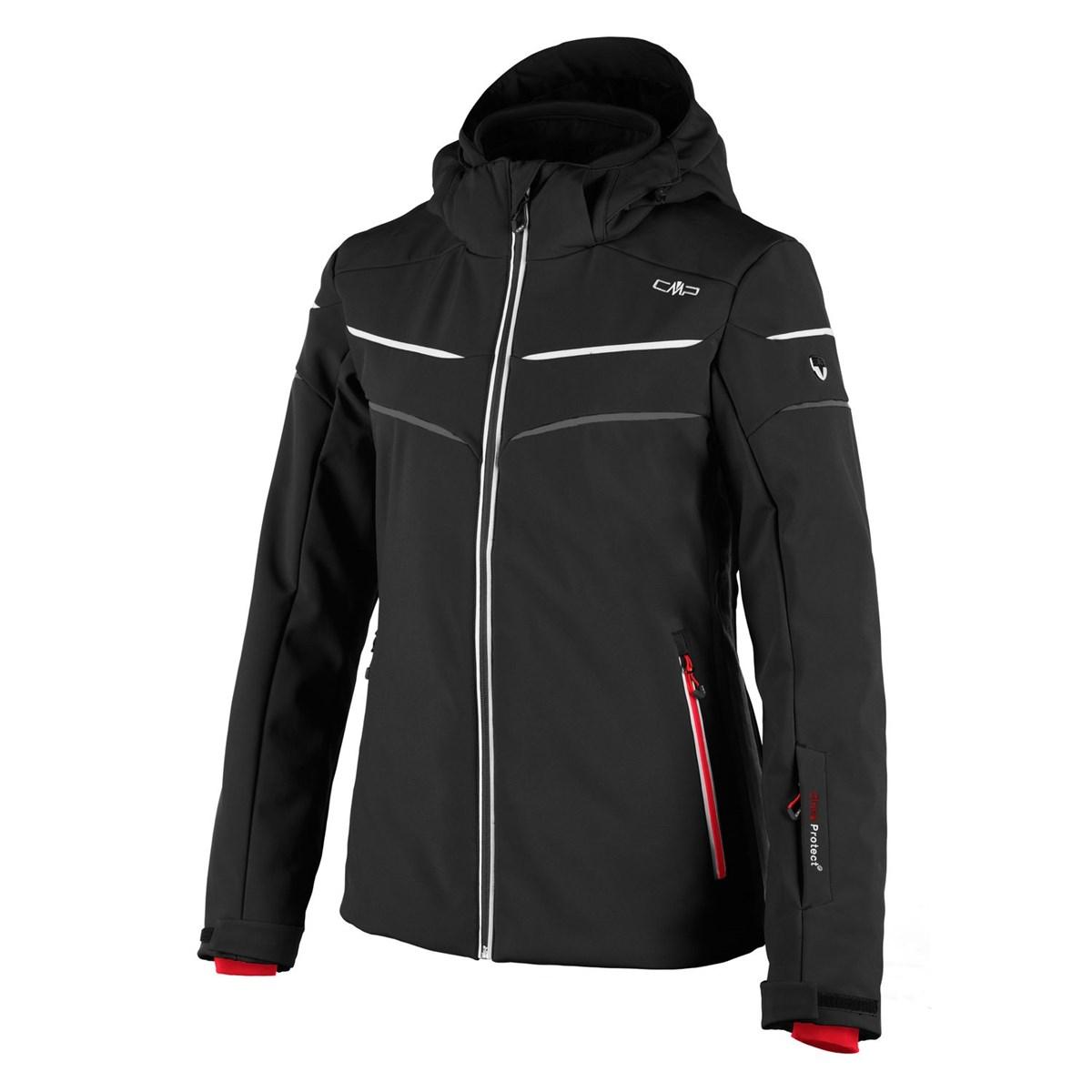 387db487fa Campagnolo Nola Womens Softshell Ski Jacket in Nero The Ski Shop £159.00