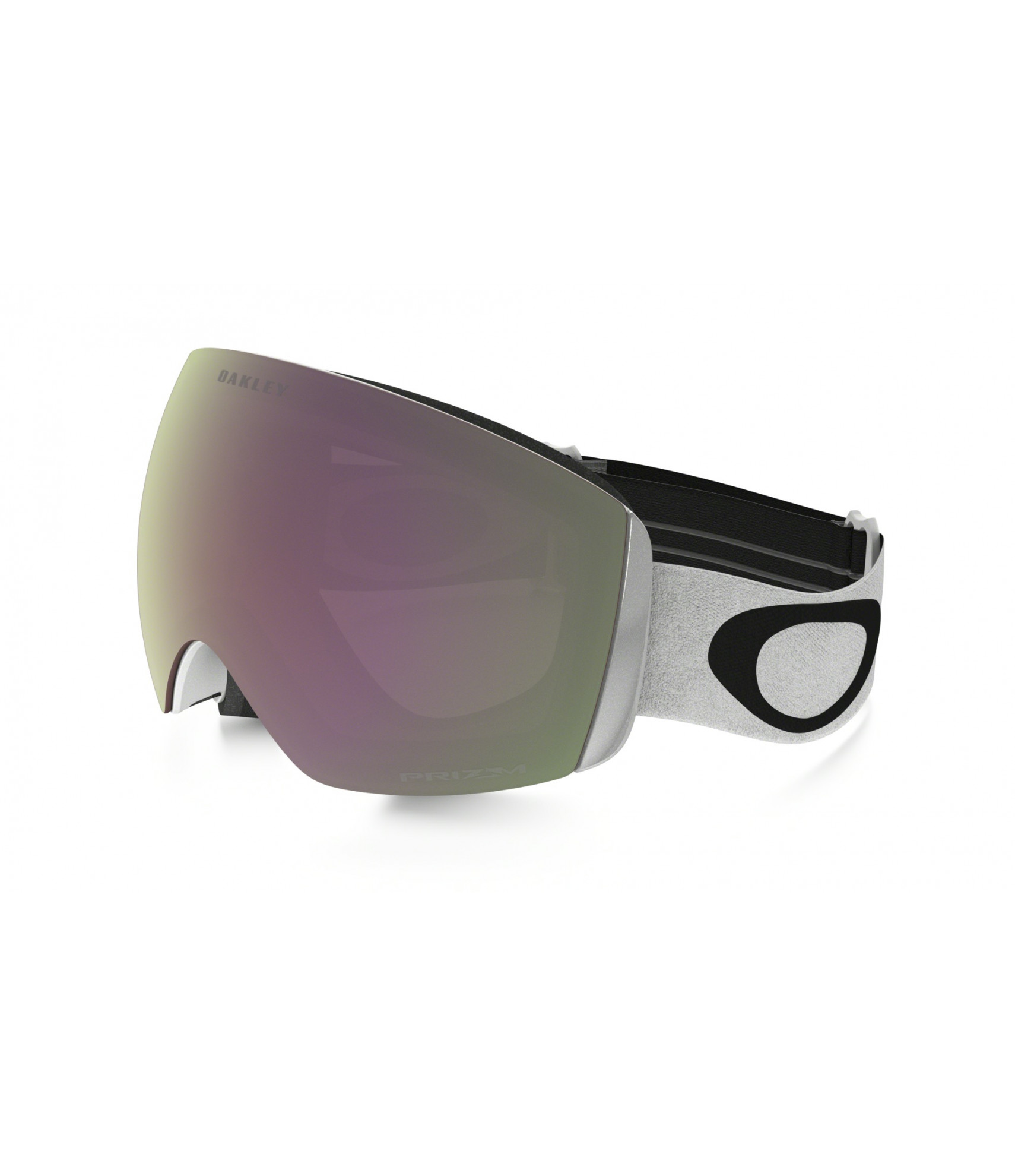 539819b11b Oakley Flight Deck Goggle In White With Prizm Hi-Pink Irid Lens £175.00