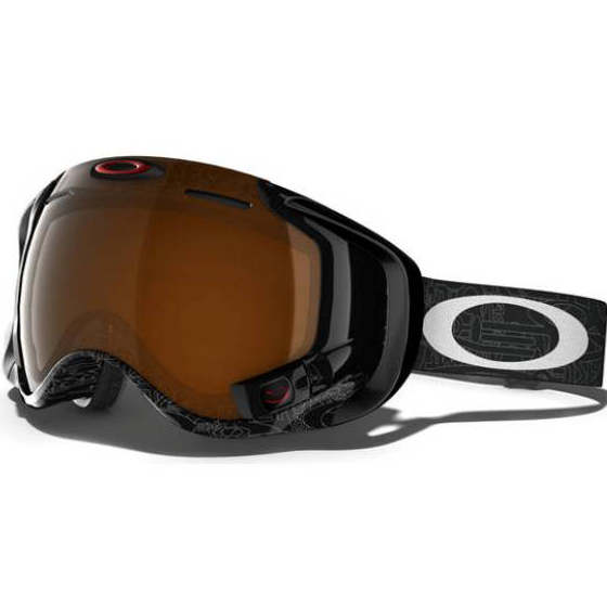 oakley skibrille flight deck xm hi yellow