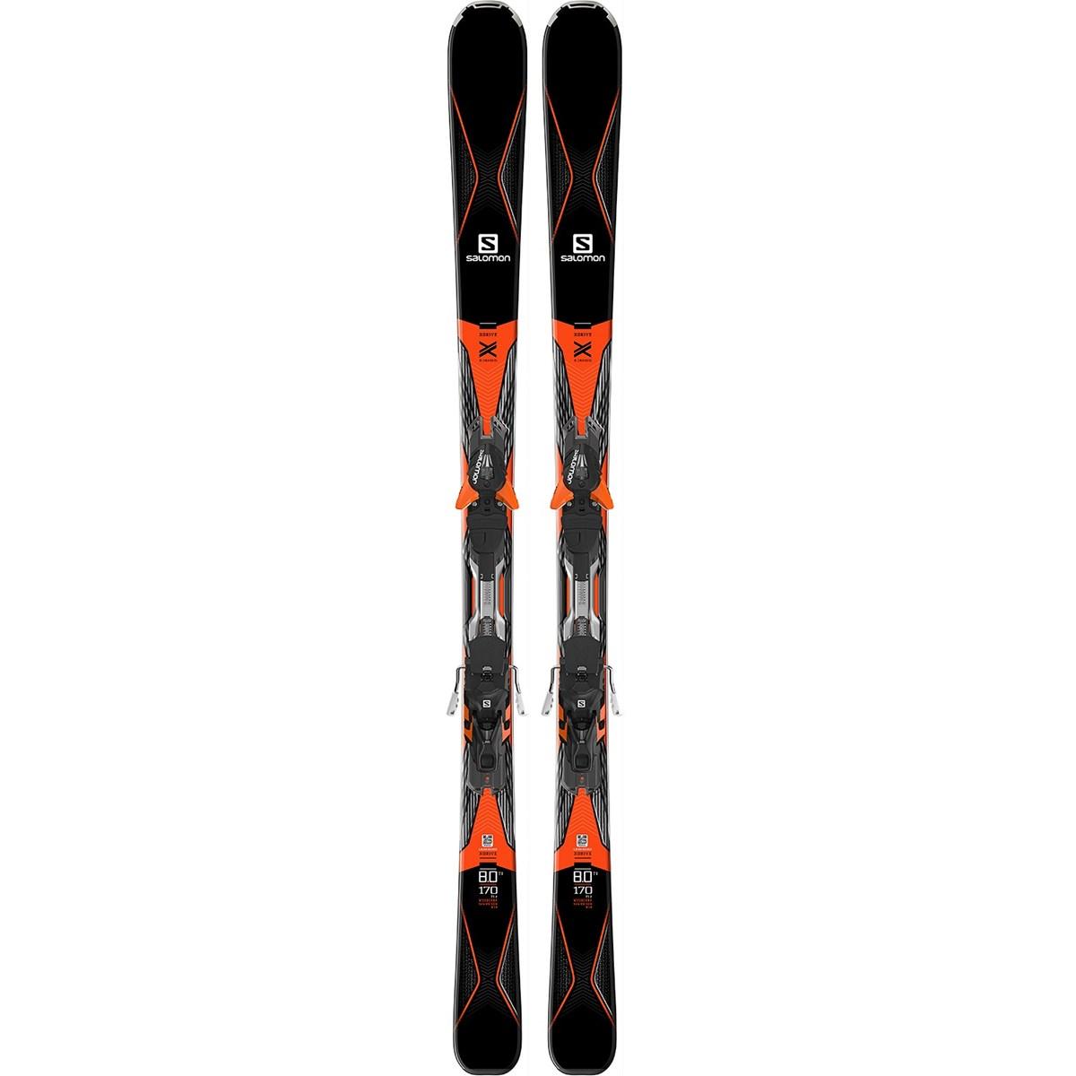 Salomon X Drive 8.0 Ti Mens 2017 Skis With XT12 Bindings