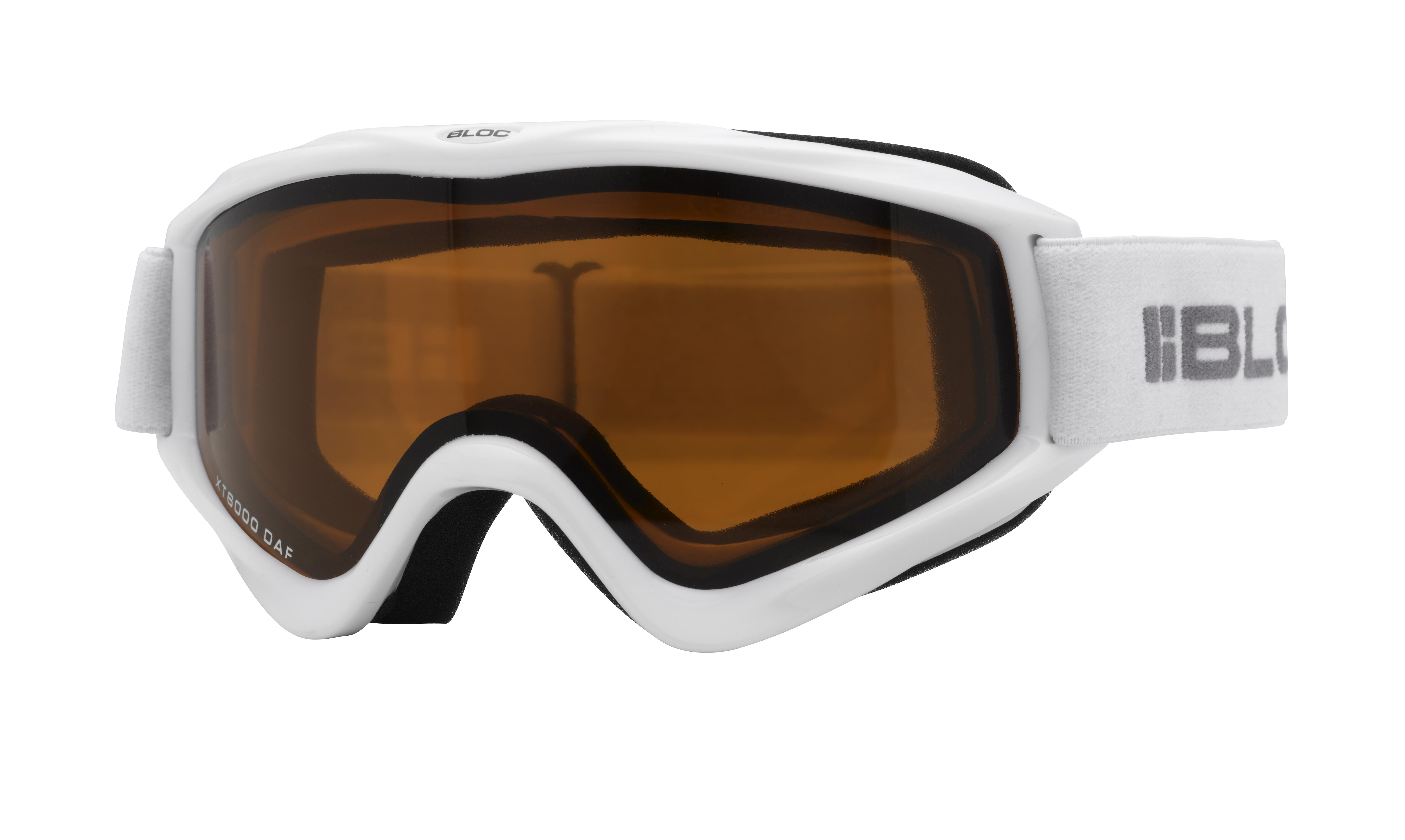 6ceed140311e Bloc Spark Junior Ski Goggles in White £18.40