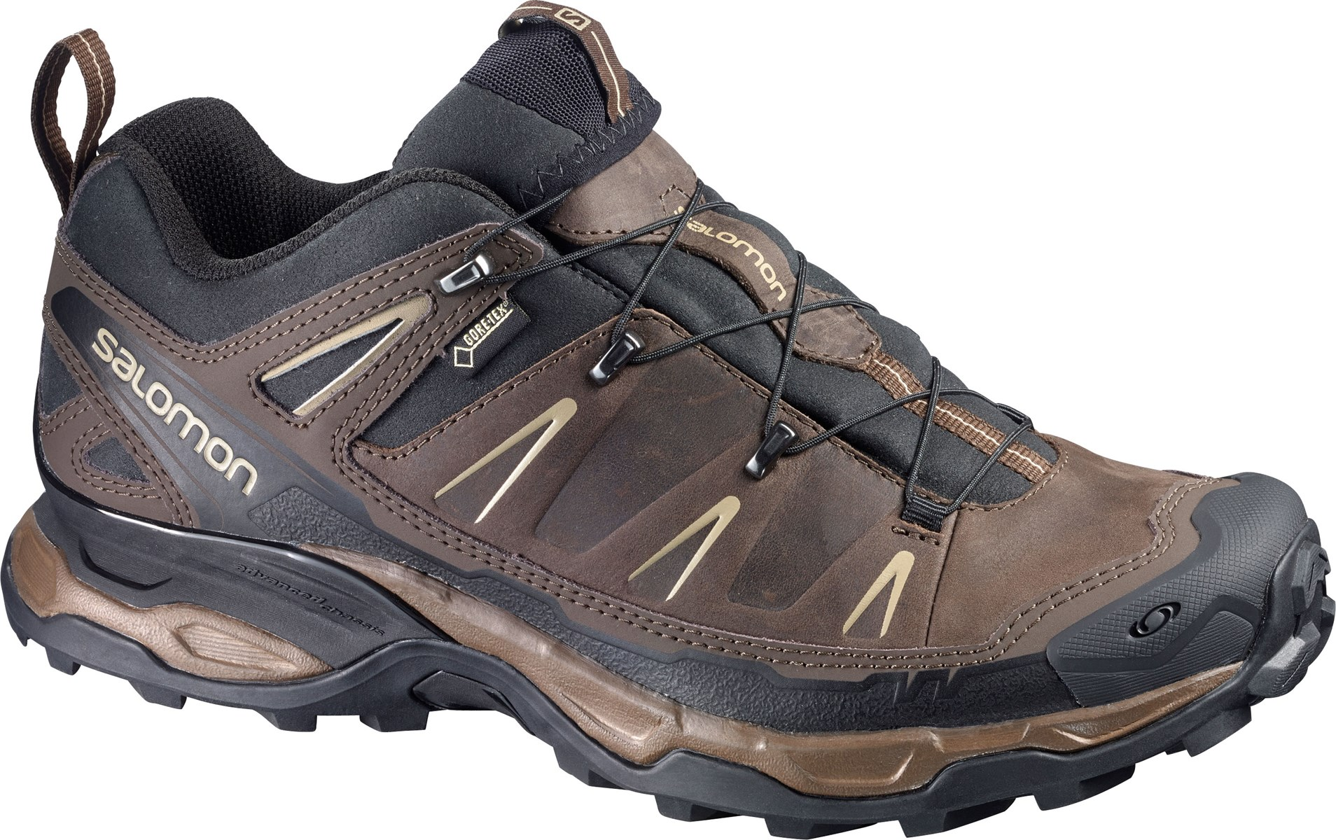 383af69040 Salomon X Ultra LTR Gore-Tex Mens Technical Hiking Shoes in Brown